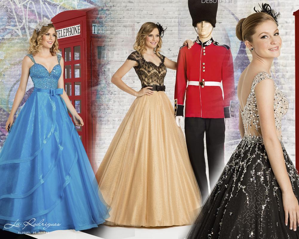 Vestido debutante 15 anos london street festa londres