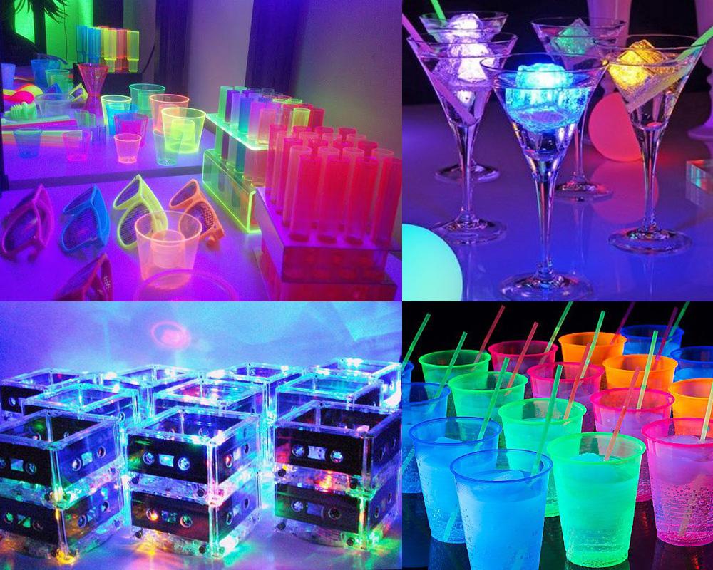 Festa De 15 Anos Tema Neon Lu Rodrigues