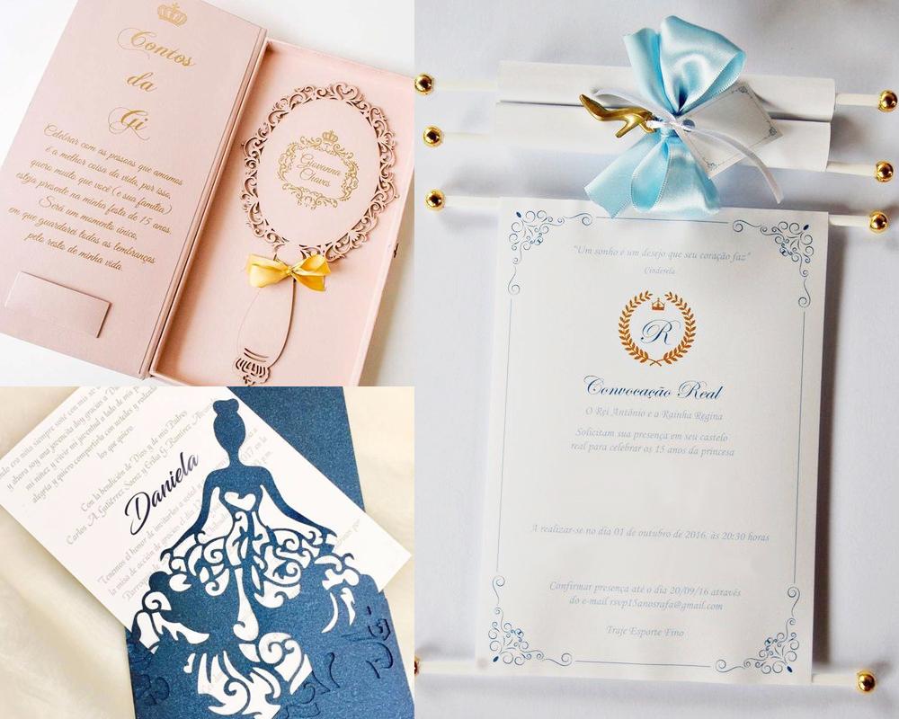 blog cinderela festa debutante 15 anos vestido azul princesa 6