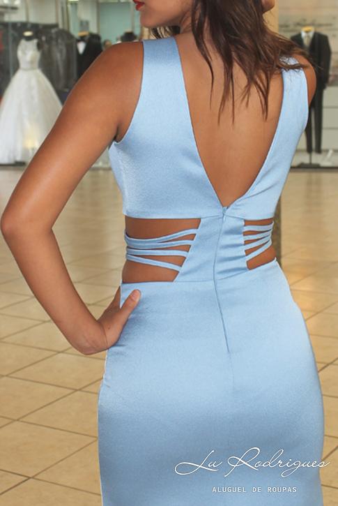 f00e79025 Vestido Madrinha Azul Serentiy Decote na barriga 002 | Lu Rodrigues