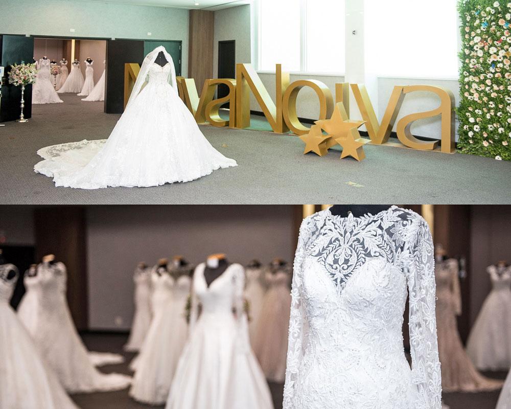 vestido de noiva papillon