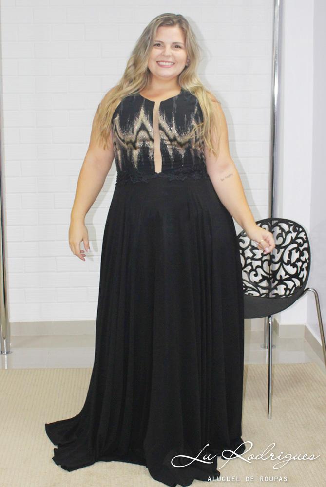 11112e0779 136 vestido longo festa madrinha plus size preto dourado 1