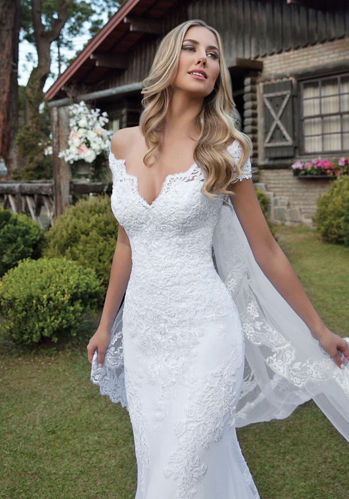 vestido de noiva dalia