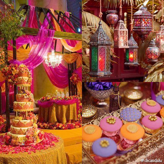 festa 15 anos árabe