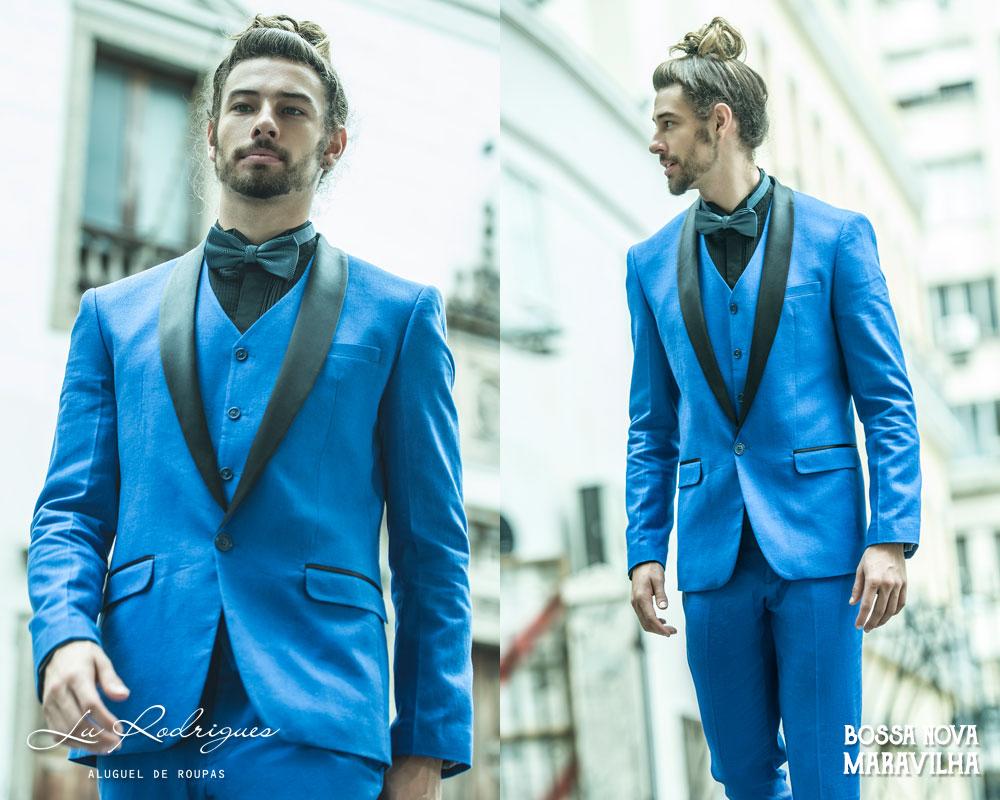 terno para noivo 2019 azul bic