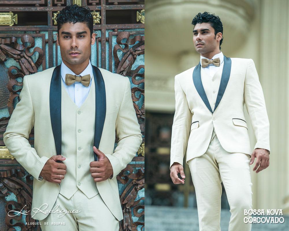 terno para noivo 2019 marfim