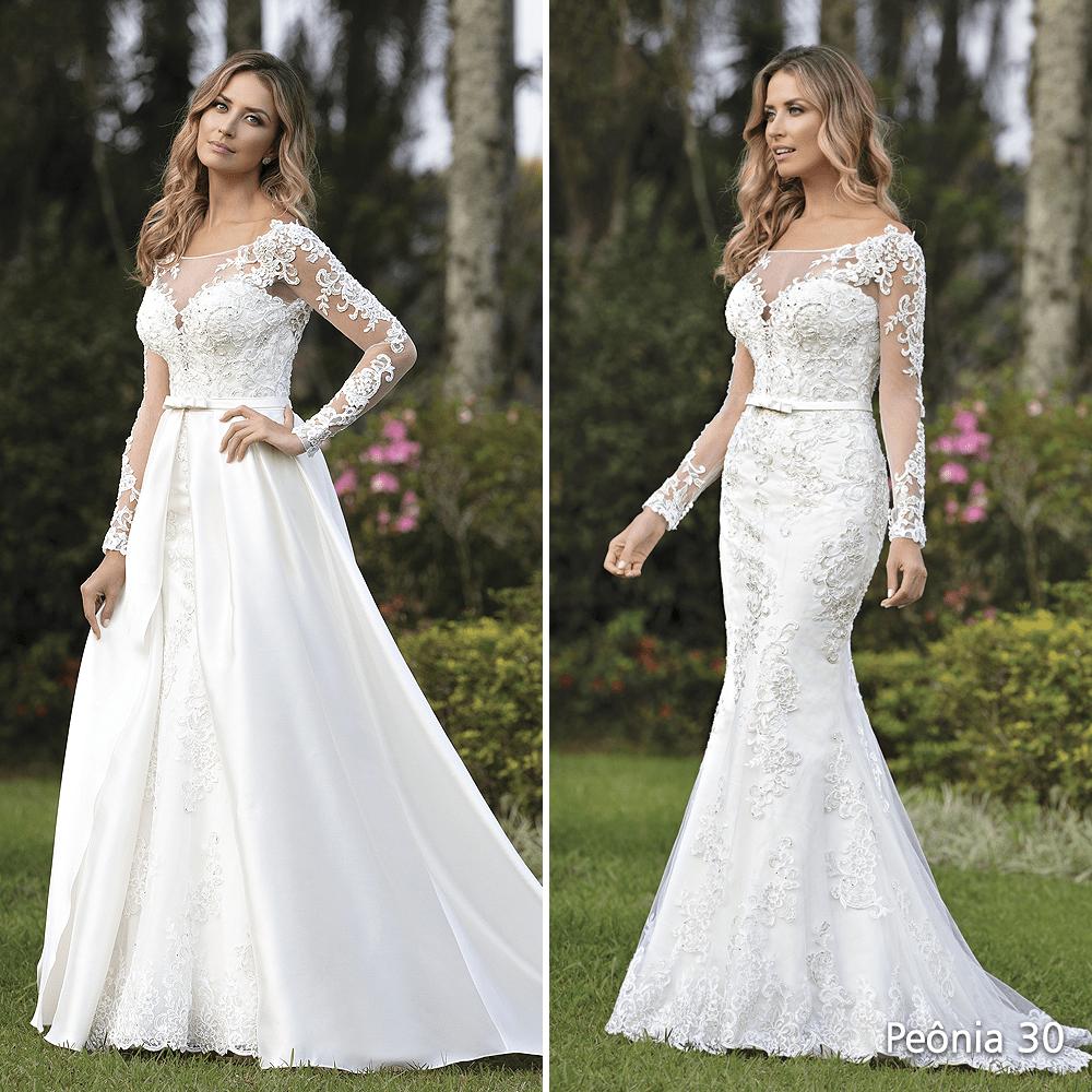 vestido de noiva sereia princesa