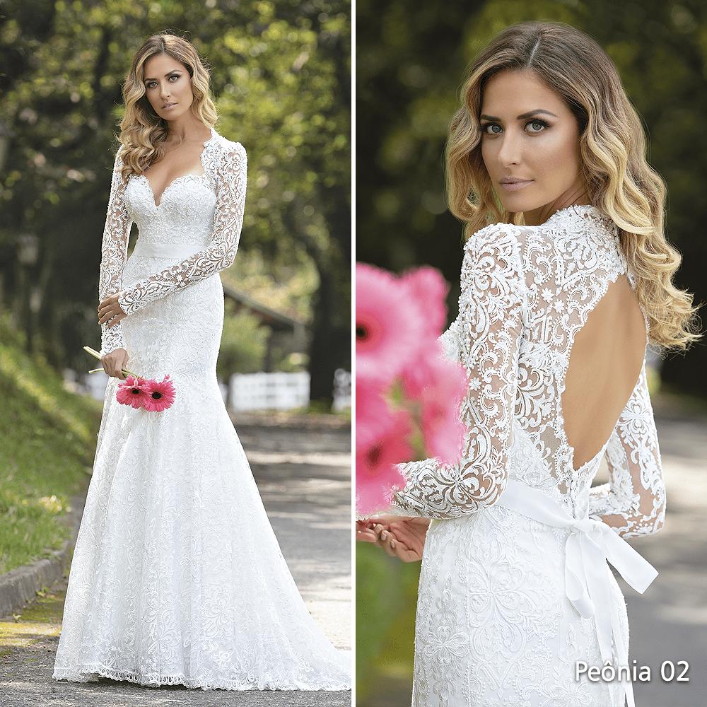 tendências de vestidos de noiva